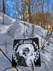 Kat Von D All Souls Art Cover in Tree Snow