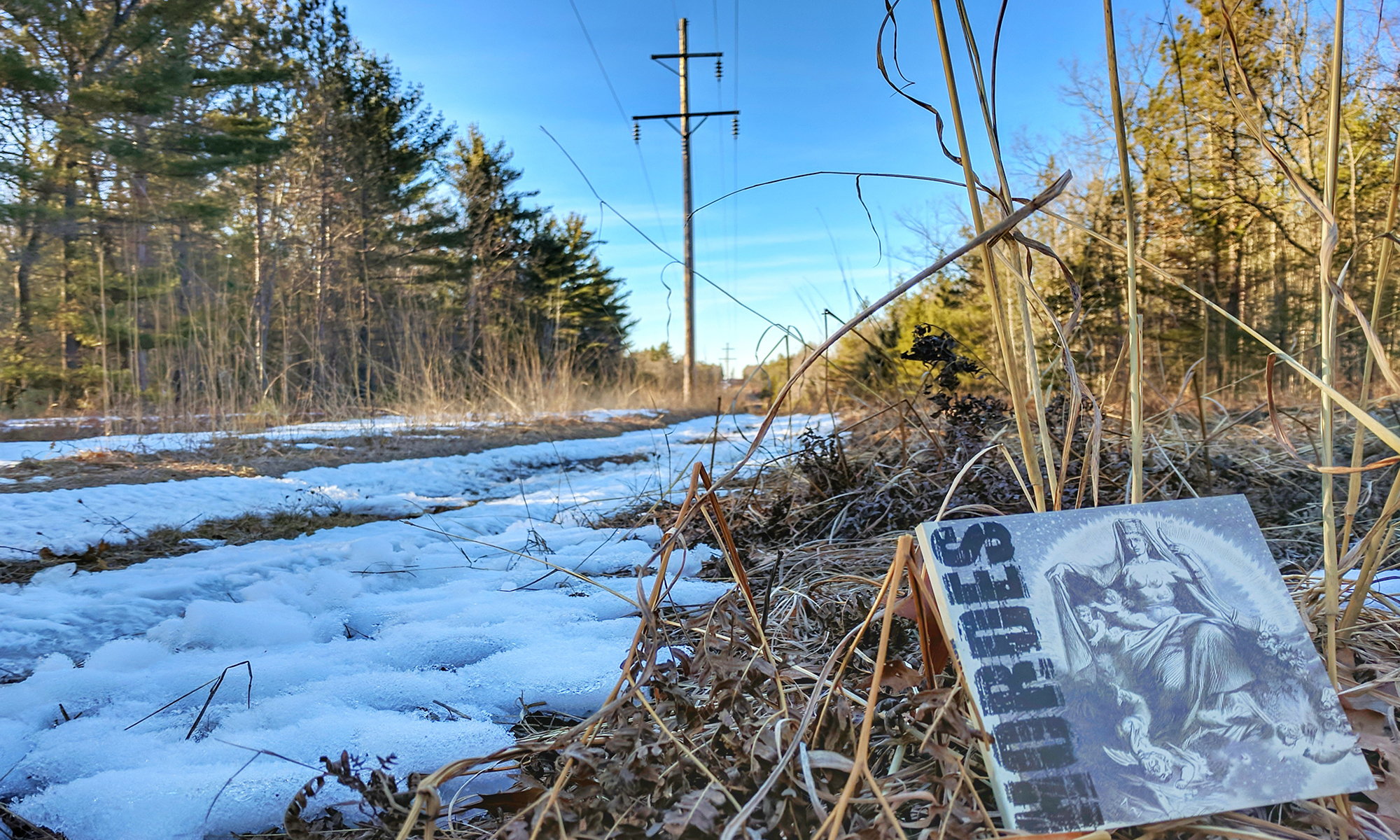 Hordes CD on an Icy Trail