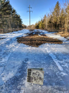 Hordes Cover of CD on Icy Trail