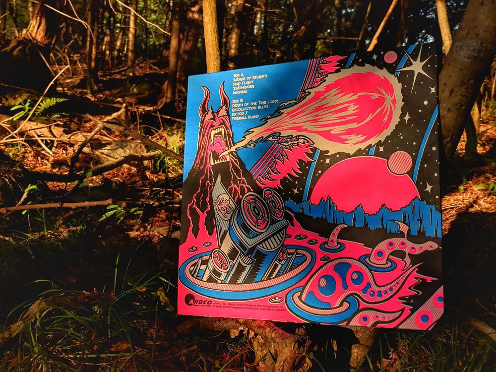 Back Cover Vinyl Record